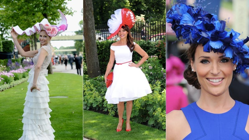 Illustration for article titled The Glorious, Ridiculous Hats of Royal Ascot