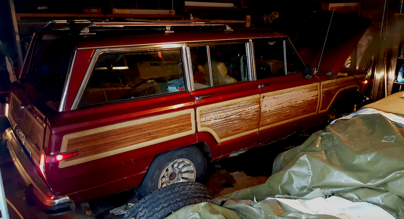 Illustration for article titled Praise The Car Gods, The Electrical Gremlins Have Left My $800 Jeep Grand Wagoneer