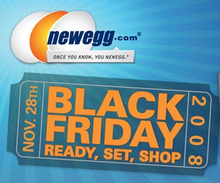 Illustration for article titled Newegg's Black Friday Deals Unveiled