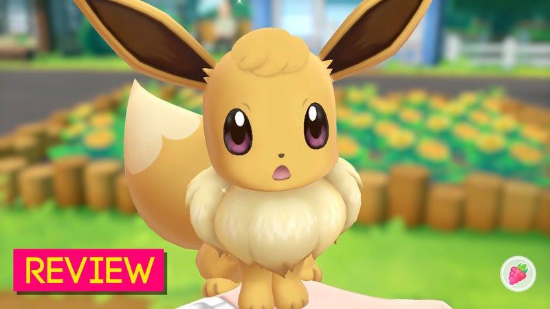 pokémon let s go eevee and pikachu the kotaku review