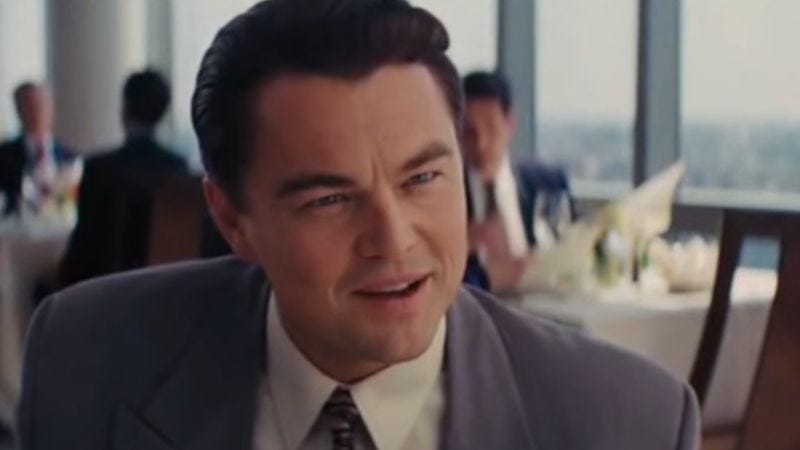 Screenshot: The Wolf Of Wall Street - Trailer