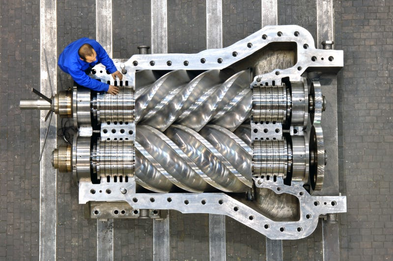 Illustration for article titled I wonder if my engine could even turn this supercharger