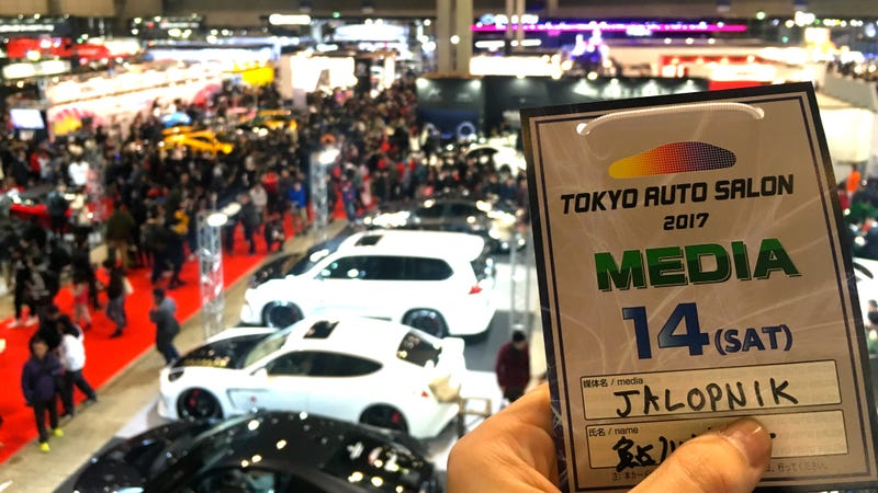 Illustration for article titled We're Back At Tokyo Auto Salon For 2017!
