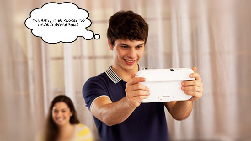 Illustration for article titled Nintendo Wants To Re-Convince You The Wii U Gamepad Is Cool