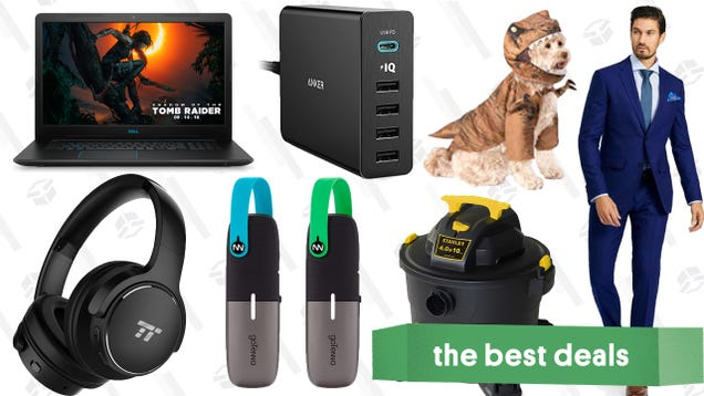 Saturday s Best Deals: Custom Suits, REI Clearance, Gaming Laptop, and More