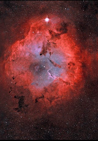 One of the coolest GIFs we've ever seen: a rotating, 3D nebula