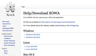 Illustration for article titled XOWA Makes It Easy to Download Wikipedia for Offline Reading