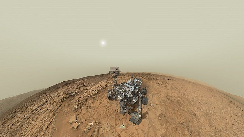 Illustration for article titled Not Even The Mars Curiosity Rover Can Escape The Back Seat Driver