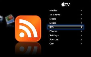 Illustration for article titled Apple TV Hack Brings RSS Feeds to Your Living Room
