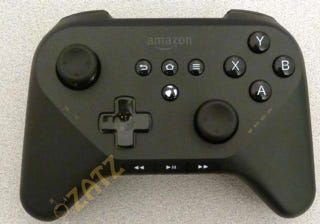 Illustration for article titled Leaked Controller Suggests Amazon's Set-Top-Box Will Be a Gaming Machine