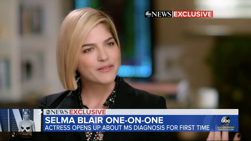 Illustration for article titled Selma Blair Wasn't Panicked By Her MS Diagnosis, But Relieved