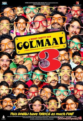 Illustration for article titled Golmaal 3 Full Movie Download For Mobile