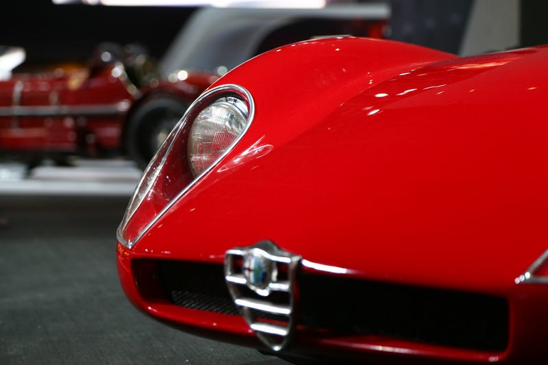 Alfa Romeo Needs To Stop Bringing Their Classic Cars To Auto Shows