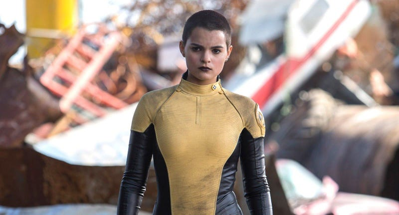 Illustration for article titled This Deadpool Concept Art Will Make You Love Negasonic Teenage Warhead Even More