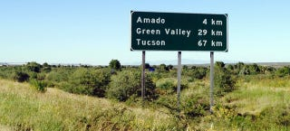 Illustration for article titled An Arizona highway has used the metric system since the 80s