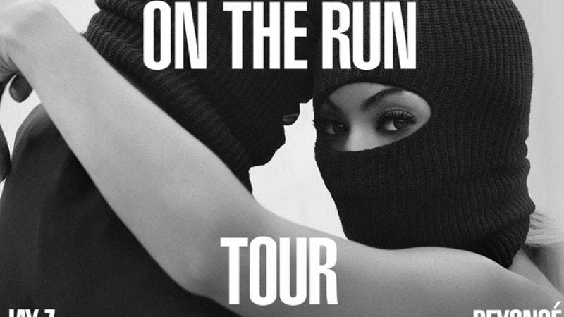 Illustration for article titled Jay Z and Beyoncé are touring together this summer