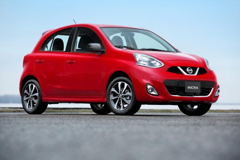 Illustration for article titled What does Oppo think of the 2015 Nissan Micra?