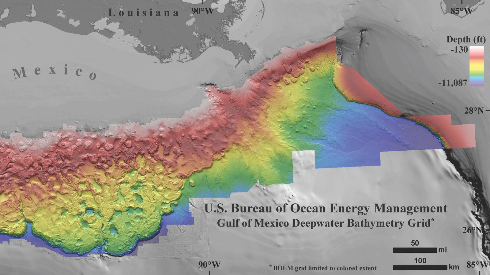 Check Out These Incredibly High Resolution Maps Of The Ocean Floor