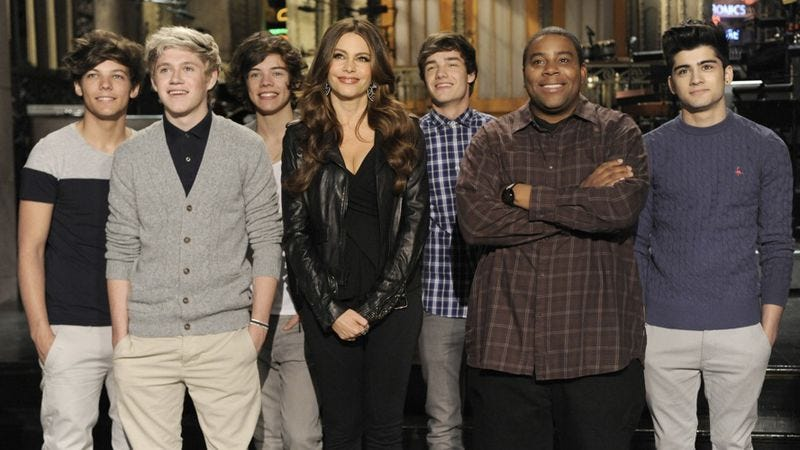 "Illustration for article titled Saturday Night Live: ""Sofia Vergara/One Direction"""