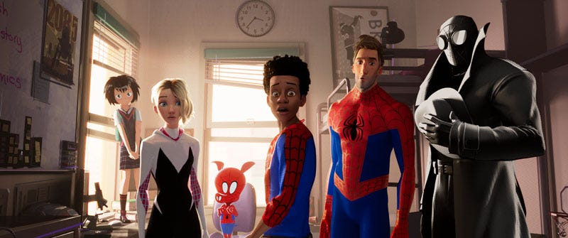 """Illustration for article titled """"Leap of Faith"""": Thoughts on Spider-Man: Into the Spider-Verse"""