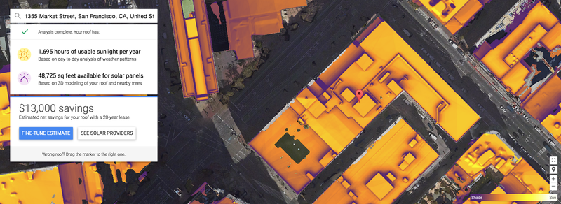 Illustration for article titled Google's Project Sunroof Wants To Help You Go Solar