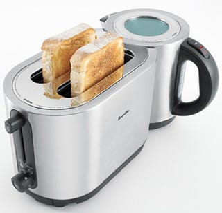 Illustration for article titled Breville ikon Combines Tea and Toast (into Teast)