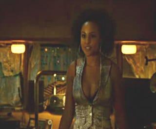 Black actress sex scene