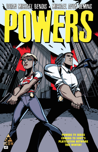 Illustration for article titled 'Powers' Issue One Delivers Intrigue, High Stakes, T&A