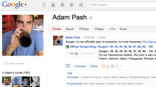 Illustration for article titled Google+ Now Available to Everyone, No Invitation Necessary