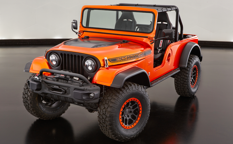 Illustration for article titled Jeep Built A Modern CJ-6 And It Looks Incredible