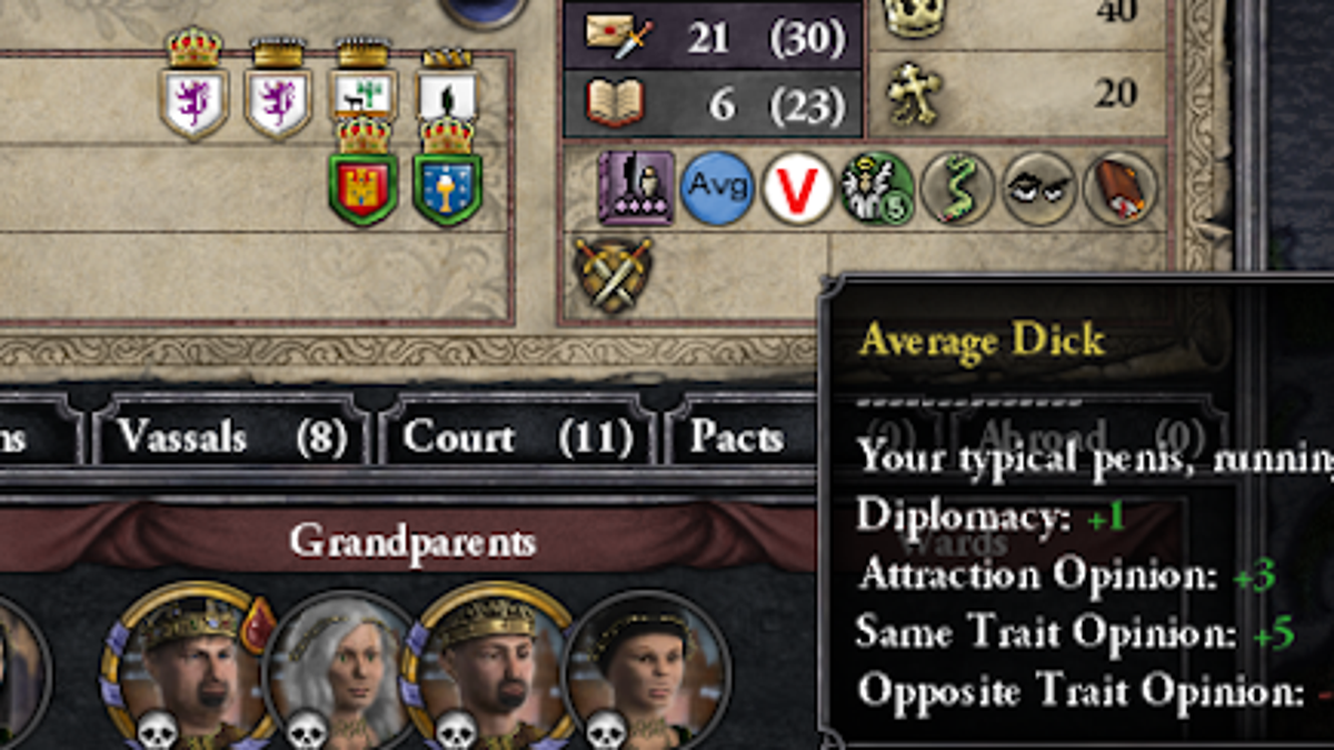 Adding Dick Sizes To Historical Strategy Game Introduces Some