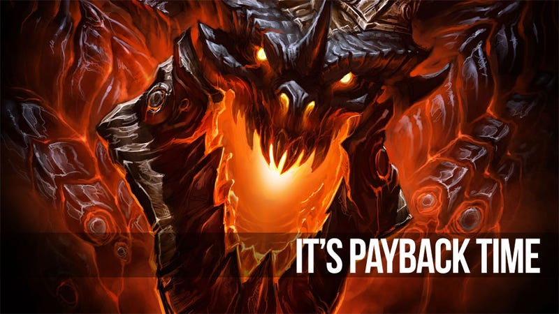 Illustration for article titled World of Warcraft: Cataclysm Comes Full Circle; Deathwing Is Going Down