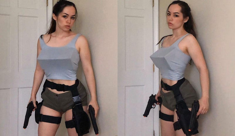 Illustration for article titled Tomb Raider Cosplay Strives For Accuracy