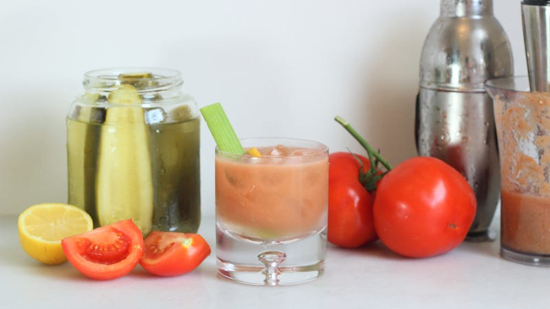Illustration for article titled This Is the Easiest, Freshest Way to Make a Bloody Mary This Summer