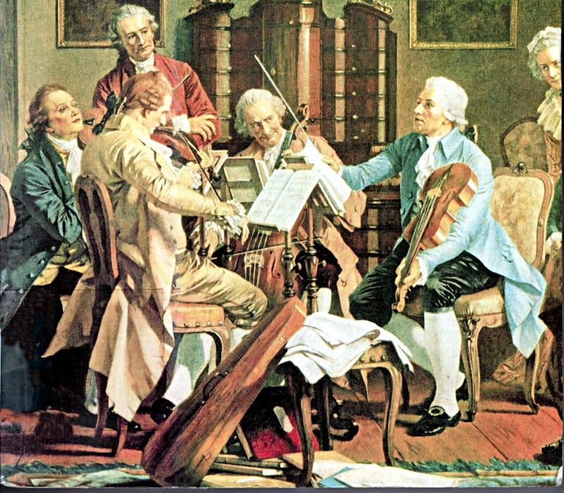 Illustration for article titled Bécsi klasszika? Kamarazene?!