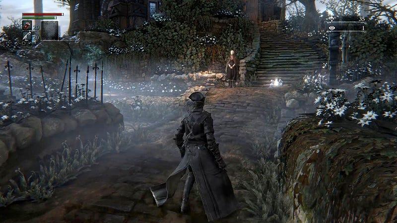 Illustration for article titled Cómo morir en el único lugar de Bloodborne en el que no puedes morir
