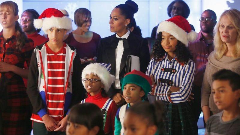 black ish black santawhite christmas - Black People Christmas