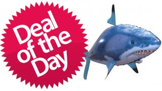 Illustration for article titled Remote Control Inflatable Flying Fish Is Your Freakishly Fun Deal of the Day