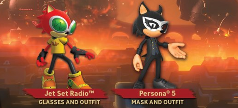 Illustration for article titled The Internet Reacts To Sonic Forces' Persona 5 Costume