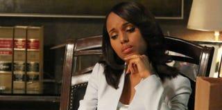 Kerry Washington as Scandal's Olivia Pope (ABC)