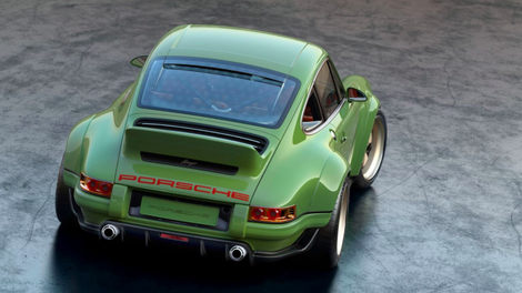 Watch This Guy Rebuild His Dream Porsche 911 In Just Four Minutes