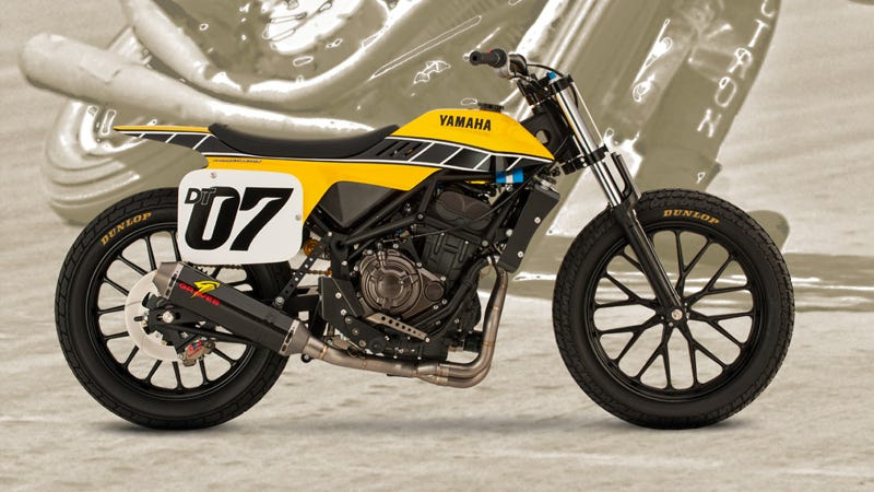 Illustration for article titled Yamaha Just Released This Amazing Dirt Tracker Concept Bike