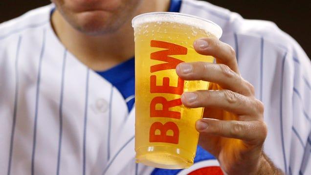 Light Beer Healthiest Food Option At Stadium