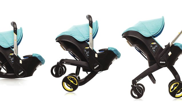 Doona Car Seat Stroller >> A Car Seat With Retractable Stroller Wheels Frees Up Trunk ...