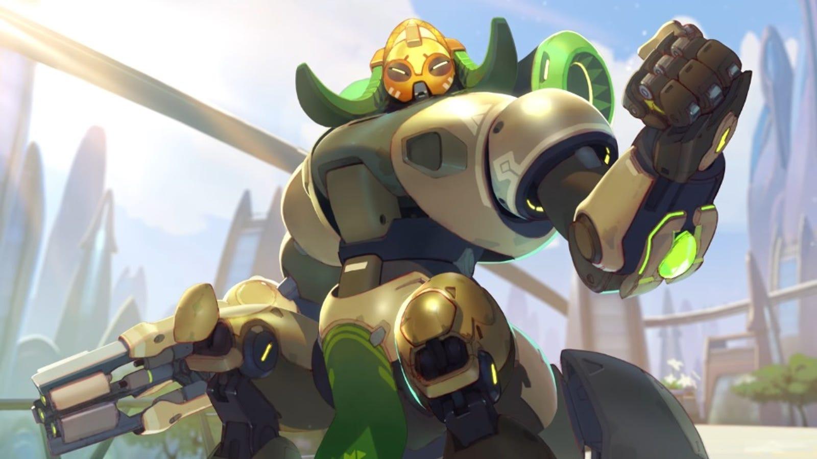 El nuevo personaje de Overwatch es una araña robot capaz de aguantar cantidades masivas de daño