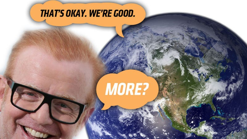 Illustration for article titled Peoples Of Earth: 'Less Chris Evans On Top Gear, Please'