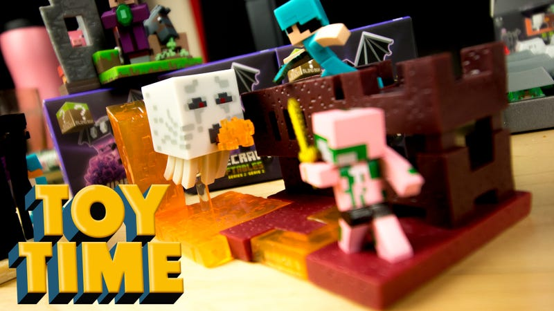 Mini Minecraft Building Sets Are Just Darling