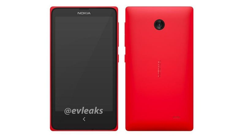 Illustration for article titled This Is Supposedly Nokia's Rumored Android Phone