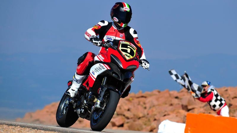 Illustration for article titled Motorcycles Will Not Compete at Pikes Peak in 2020
