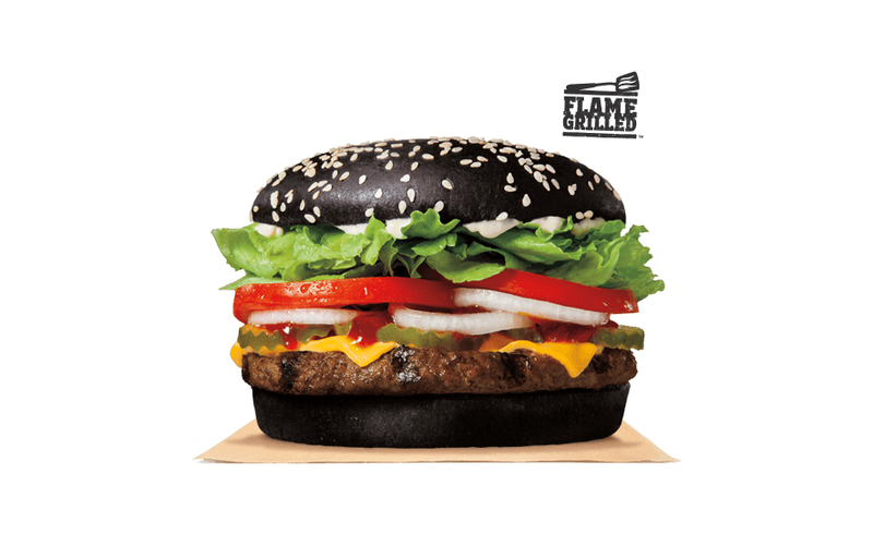 Halloween Hamburgers.Burger King S Halloween Burger Dyes Your Poop Green And We